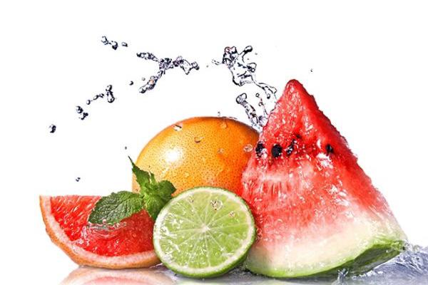 Tropisch weer; eten en drinken